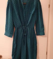 Reserved zelena haljina sa točkicama