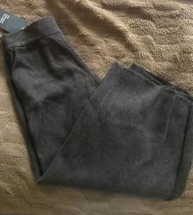 Zara pletene culotte sive hlače S