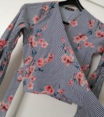 Cvjetna nova bluza košulja