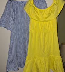 LOT asos ljetne haljine S-uključen tisak