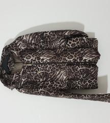 Animal print proljetna lagana jaknica