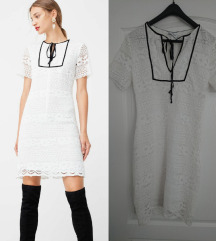 Mango bijela cipkana haljina SNIZENO NA 119