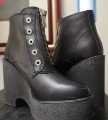 Diesel Black gold nove cipele gleznjace