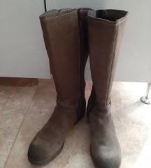 Čizme od velura br.41