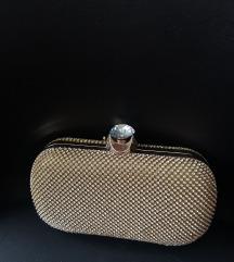 Zlatna svečana torbica