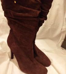 ❤ Guess čizme ❤ tamno čokoladne boje ❤ original ❤