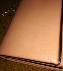Nude pink elegantna torbica