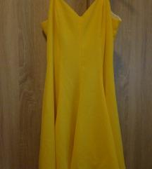 Žuta haljina,S-M
