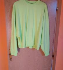 NOVA ASOS neon oversized majica XL