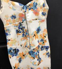 Cvijetna ljetna haljina