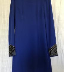 Kraljevsko plava haljinica UK8