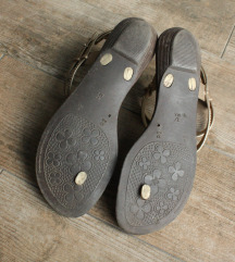 Zlatne sandale-Poklon uz kupnju cipela