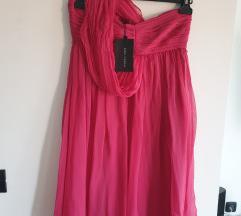 ZARA haljina 100% svila - NOVO S ETIKETOM
