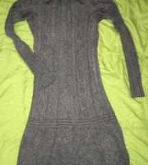 Pletena haljina viskoza angora (slanje uklj)