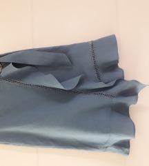 Zara suknja plava