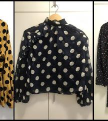 LOT | Zara bluze s točkicama