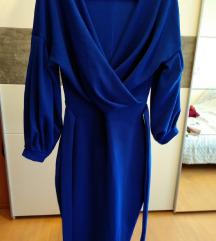 BOMBA predivna plava haljina