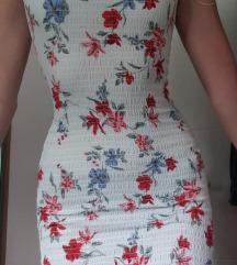 Uska haljina cvjetna