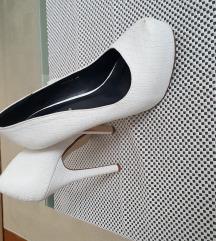 Visoke bijele cipele 39