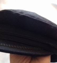 Mornarska kapa crna