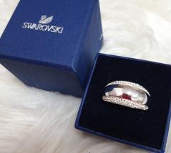 Swarovski prsten original vel.60