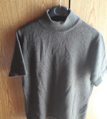 Vunena majica smeda