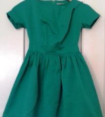 Svečana zelena haljina