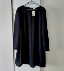 H&M nova crna haljina XXL S ETIKETOM