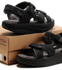 MBT- KISUMU crne sandale (original)-UNISEX, 38,5