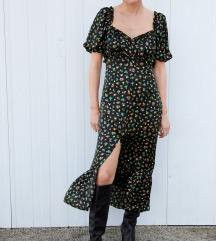 Zara nova s etiketom cvjetna haljina M