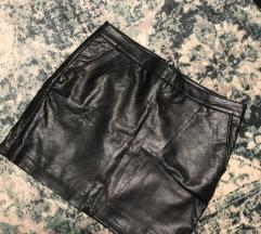Kožna suknja/minica