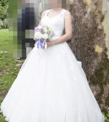 Vjenčanica + veo i lepeza