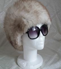 Kapa Šubara pravo krzno polarna lisica