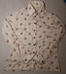 Retro cvjetna košulja 70e