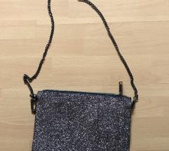 Šljokičasta torbica, bez oštećenja