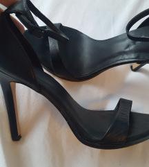 Kožne sandale Zara
