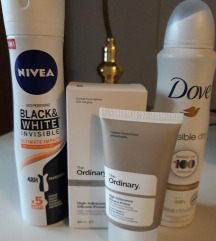 Lot kozmetike (The Ordinary primer, Nivea, Dove)