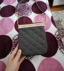 Tamno siva torbica