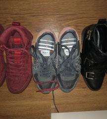 Tenisice i cizme