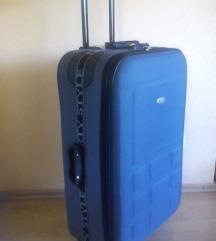 Kofer, velik 75 cm, boja tamno siva
