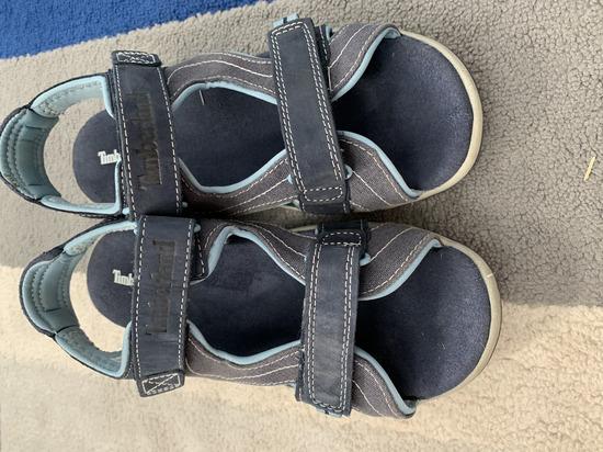 Timberland kožne plave sandale broj 38.