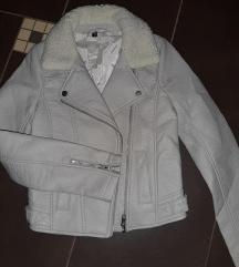 kožna jaknica XS H&M