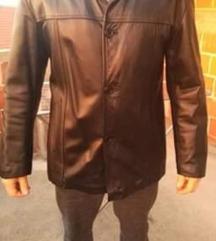 Kožna jakna muška vel XL