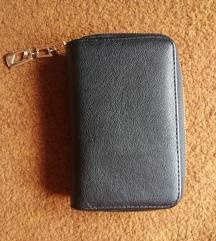 srednji crni novčanik