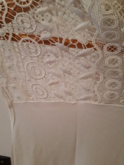 Bijela majica s čipkom S Oliver