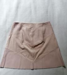 》Zara kožna suknjica《