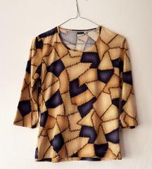 Basic Concept ženska šarena patchwork bluza/majica