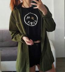 crna majica - oversized RASPRODAJA