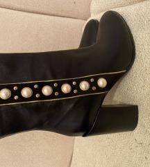 Kožne čizme s perlama (MASS)