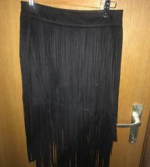 Suknja s resicama - Zara